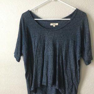 Madewell Blue Striped shirt